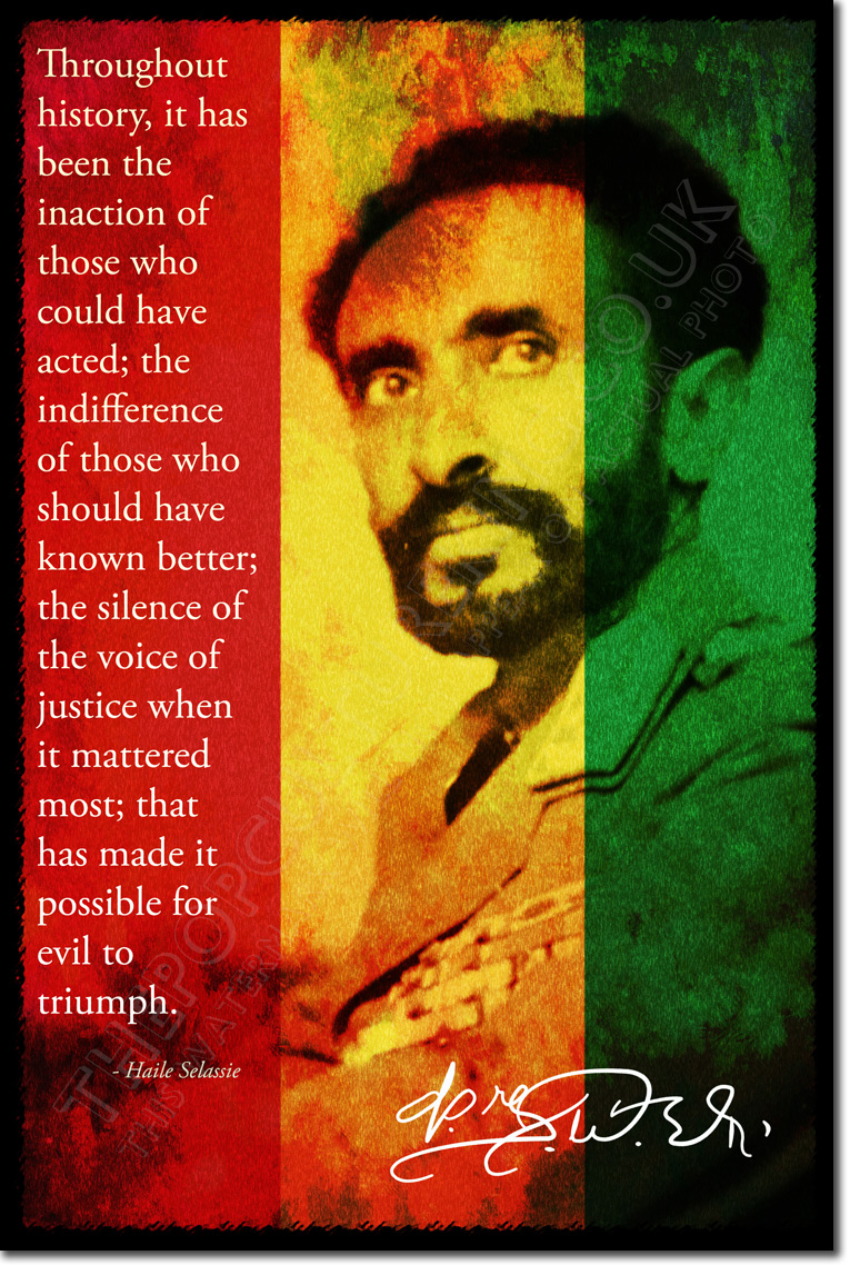 an introduction to the life of emperor selassie The introduction caused a great many italian journalists in the  the last months of the emperor's life were spent in  the history of haile selassie.