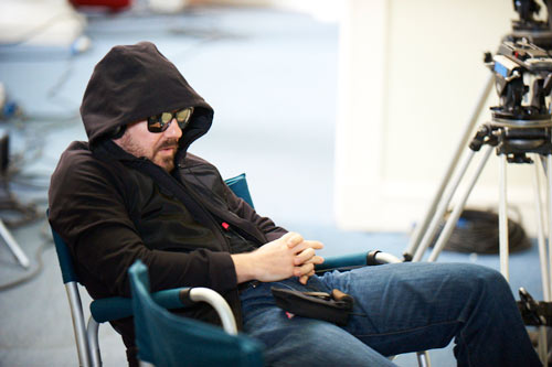 ricky gervais asleep on set of life's too short