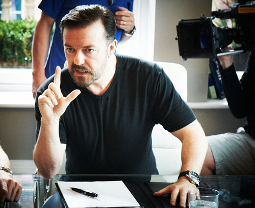 Ricky Gervais Directing Life's Too Short
