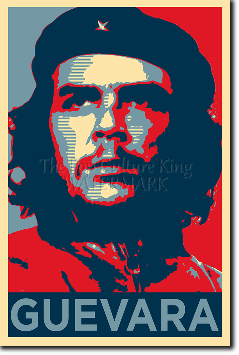 Che Guevara Art Photo Print Poster Gift Obama Hope Style