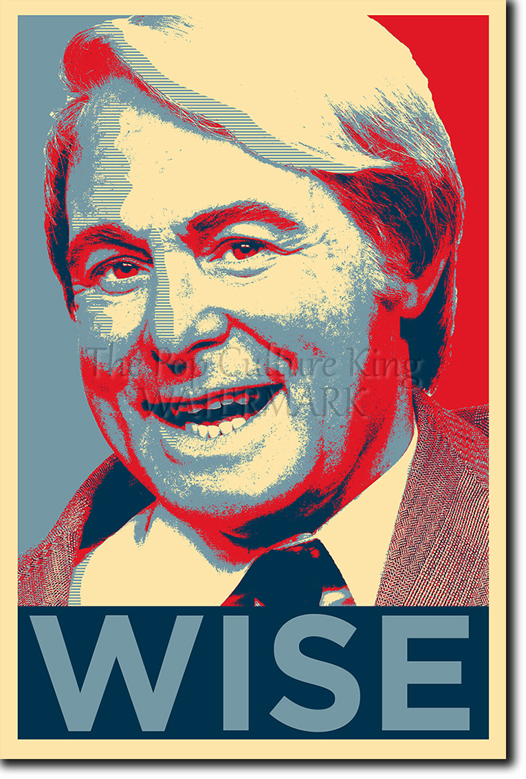 ERNIE WISE ART PHOTO PRINT OBAMA HOPE POSTER GIFT AND MORECAMBE