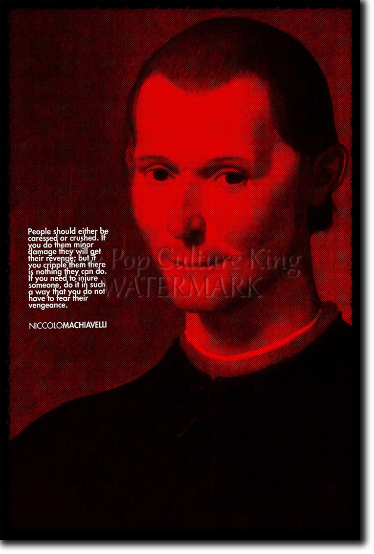 Détails Sur Niccolo Machiavel Art Print Poster Photo Cadeau Citation Art De La Guerre Le Prince Afficher Le Titre D Origine