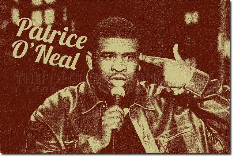 patrice oneal original art photo poster o 39 neal opie. Black Bedroom Furniture Sets. Home Design Ideas