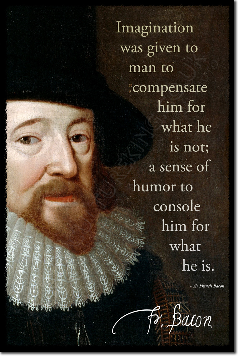 Details About Sir Francis Bacon Art Photo Print Poster Gift Quote