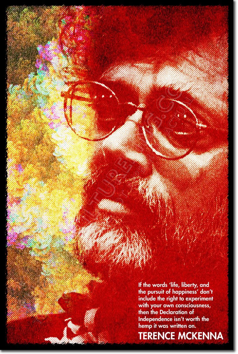 Terence Mckenna Art >> Details About Terence Mckenna Art Quote Print Photo Poster Gift Lsd Psychdelics Psychonaut
